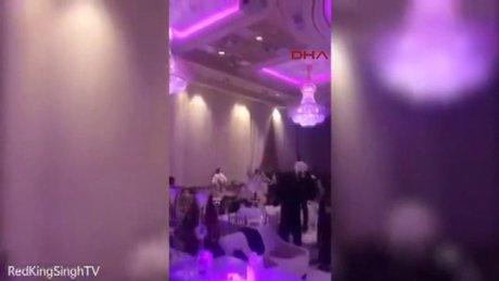 Gelinin seks görüntüleri düğünü karıştırdı