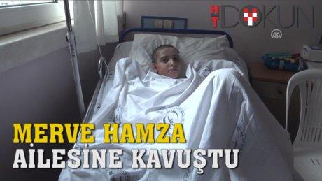 Halepte kaybettiği babasına ve kardeşine kavuştu