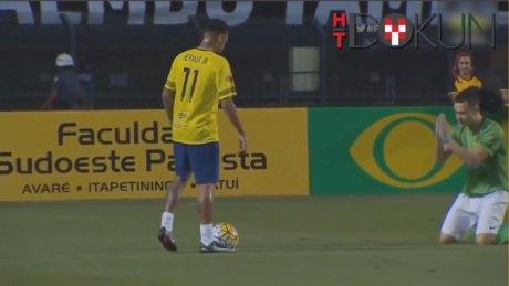 Neymar'a yalvardı: Beni çalımlama