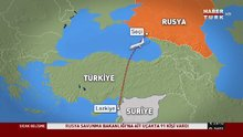 Suriye'ye giden Rus uçağı radardan kayboldu