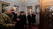 İçişleri Bakanı Süleyman Soylu, Veysel Karani Türbesini ziyaret etti
