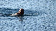 Antalya'da Aralık ayında deniz keyfi!