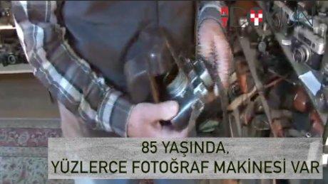 85 yıllık ömüre yüzlerce fotoğraf makinası: Bülent Esmen