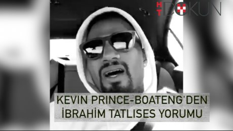 Kevin Prince-Boateng'den İbo şarkısı