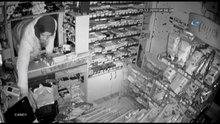 Market faresi kameraya böyle yakalandı