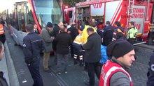 Beyazıt'ta tramvay kazası! 1 kişi öldü