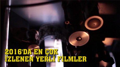 2016 Türk sineması 'Dağ' gibi gişe yaptı!