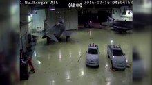 15 Temmuz gecesi askeri üste yaşananlar güvenlik kamerasında