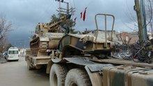 El Bab bölgesinde birlikler takviye ediliyor