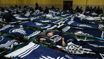 İBB evsizlere kapılarını açtı