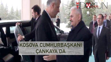 Kosova Cumhurbaşkanı Çankaya'da