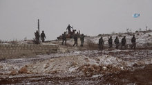 Türk ordusunun El Bab'da ilerleyişi dakika dakika görüntülendi