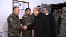 Bakan Fikri Işık, Namaz Dağı'nda görev yapan askerleri ziyaret etti
