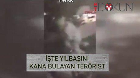 Ortaköy'de yılbaşı terörü: Saldırgan güvenlik kamerasında!