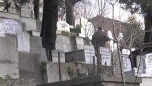 Polis Kuruçeşme'de saldırı ile ilgili olabileceği düşünülen zanlıyı mezarlıkta aranıyor