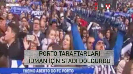 Porto idmanında 28 bin taraftar!