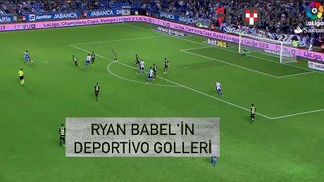 Ryan Babel'in Deportivo'daki golleri