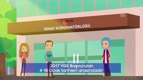 ÖSYM'den YGS başvuruları için kamu spotu