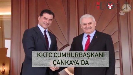 Başbakan Yıldırım, KKTC Başbakanı Özgürgün ile bir araya geldi