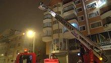 Ankara Çukurambar semtinde yangın