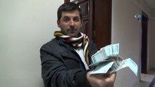 Yastıkta bulduğu bin lira kendisine ödül olarak verildi