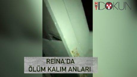 """Reina'dan sağ kurtulan Suudi: """"Eşimi denize attım"""""""