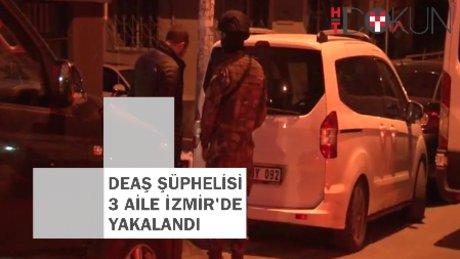 Konya'dan kaçan üç aile İzmir'de yakalandı