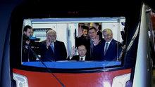 Keçiören Metrosu'nda ilk yolculuk