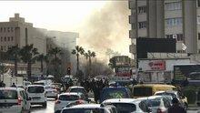 İzmir'de terör saldırısı! Adliye yakınında patlama