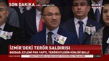 Bozdağ: İzmir'deki terör saldırısıyla ilgili 18 kişi gözaltına alındı