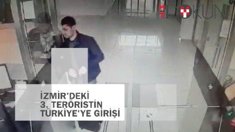 Üçüncü İzmir teröristi Irak sınırında!