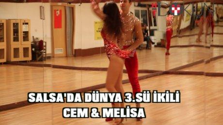 Salsa'da dünya 3. sü ikili: Cem ve Melisa