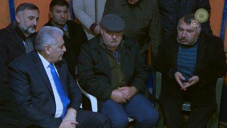Başbakan, şehit Musa Can'ın ailesine taziye ziyaretinde bulundu