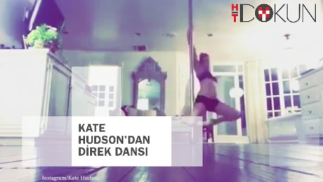 Kate Hudson'dan direk dansı