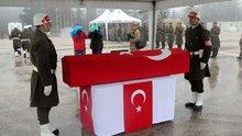 Şehit Osman Açıkgöz'ün cenazesi memleketine gönderildi