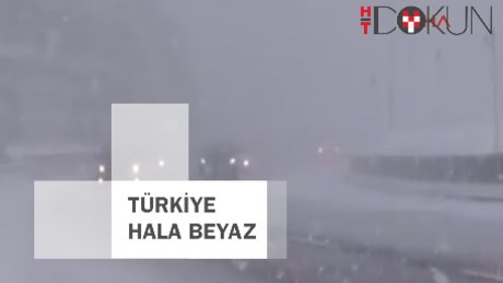 Türkiye karla mücadelede