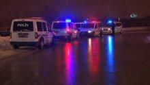 Ters yönden giden sürücü polisi alarma geçirdi