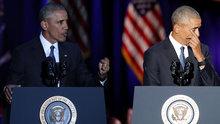 Obama'dan duygusal veda