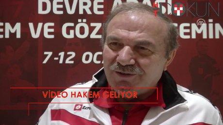 """MHK Başkanı Namoğlu: """"Video yardımcı hakem bana göre yararlı"""""""