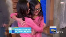 Bebekken ayrılan 10 yaşındaki ikizlerin göz yaşartan buluşması!