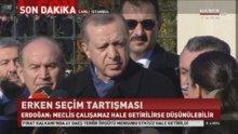 Cumhurbaşkanı Erdoğan, Meclis'teki Anayasa görüşmelerini değerlendirdi