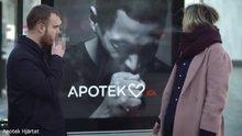 Sigara içince öksüren pano