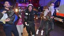 Bursa'da yangın: 10'u çocuk 17 kişi kurtarıldı