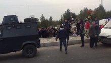 Diyarbakır Sur'da hafriyatın döküldüğü alanda patlama
