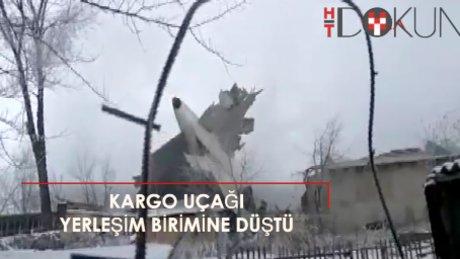 ACT Havayolları uçağı Kırıgızistan'da düştü