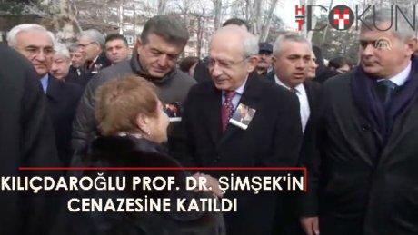 Kılıçdaroğlu, Gürhan Fişek'in cenazesine katıld