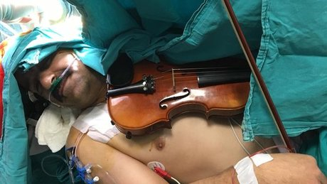 Ameliyata böyle girdi!