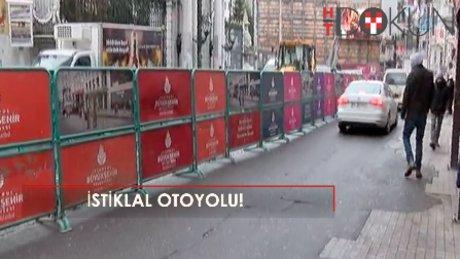 Nostaljik tramvay bakıma girdi, İstiklal E-5'e döndü!