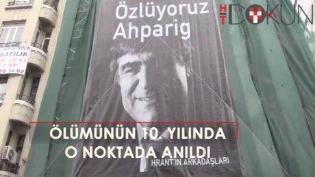 Hrant Dink, ölümünün 10. yılında anıldı
