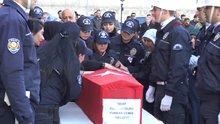 Şehit polis tören Furkan Demir için Diyarbakır'da tören